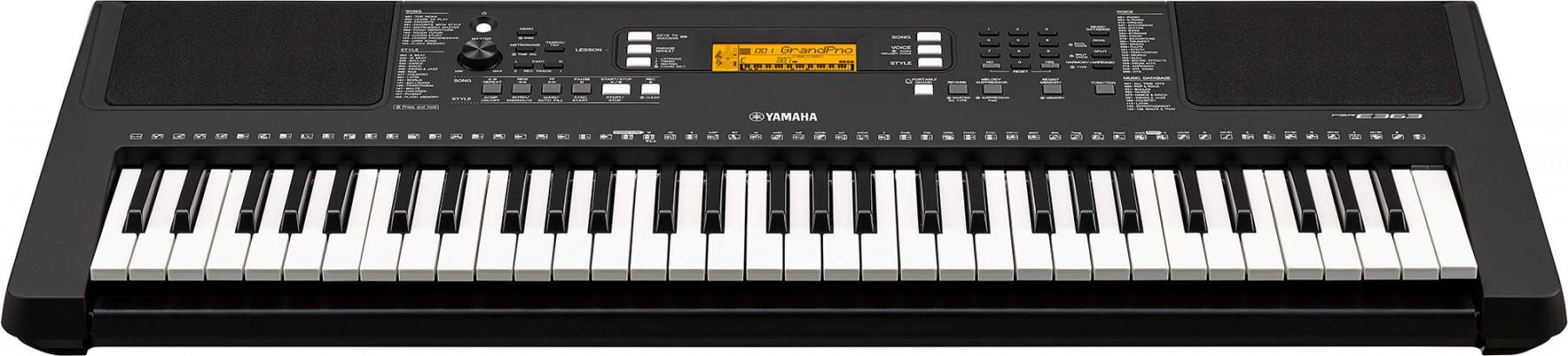 Yamaha psr e363 for Yamaha psr ew300 keyboard