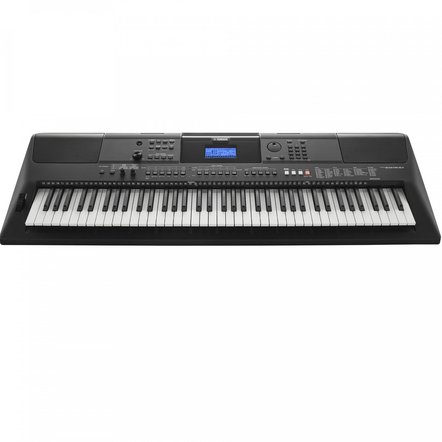 Yamaha psr ew400 for Yamaha psr ew300 keyboard