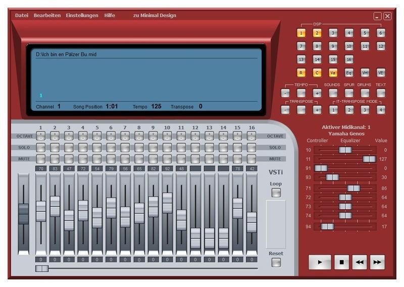 Midiland Optimizer X o.a. voor Yamaha Genos