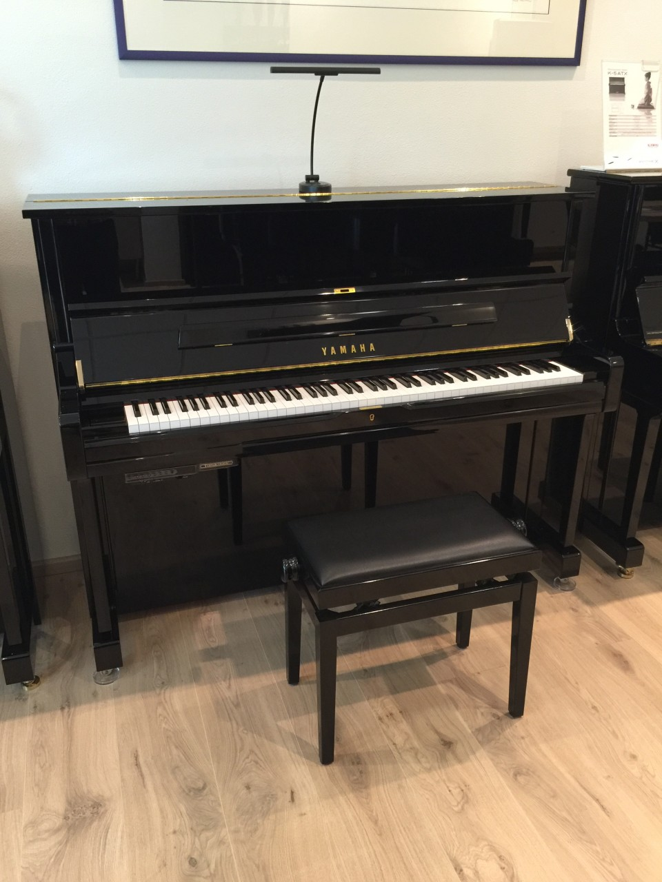 Yamaha U1 TA PE TransAcoustic piano Demo