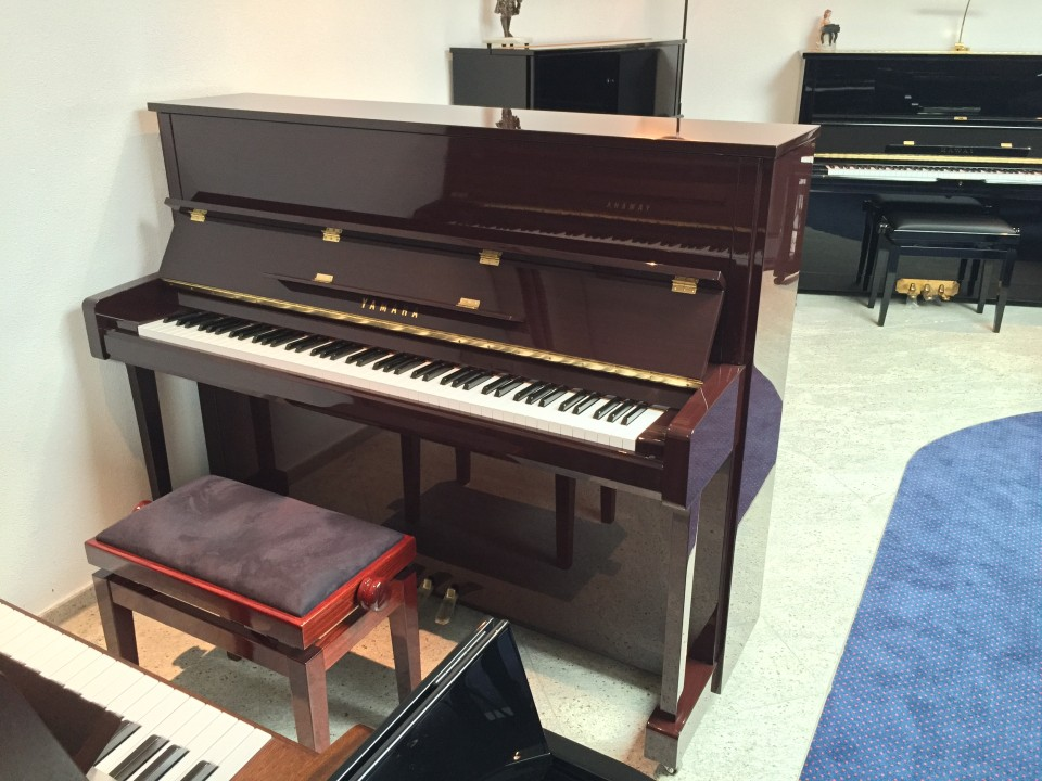 Yamaha B3 PM mahonie hoogglans Demo/Showroom-model