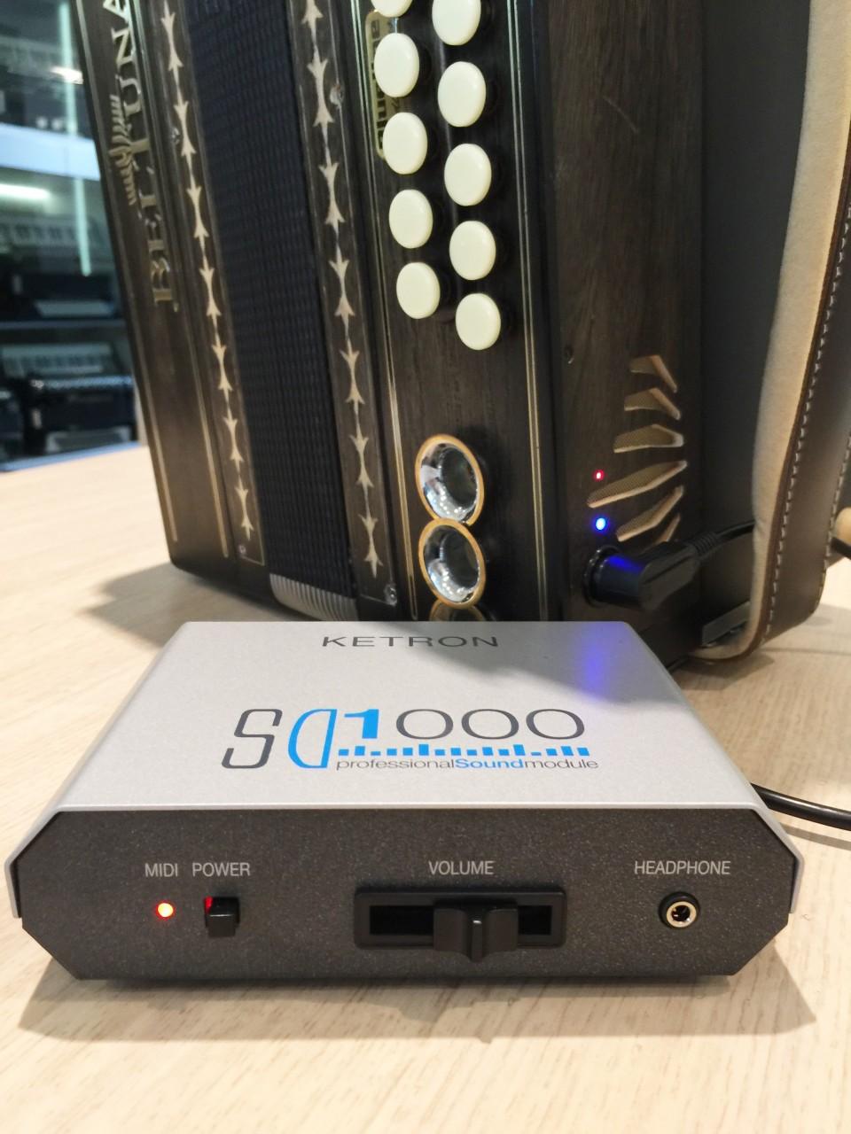 BlueLine Bas-Midi & Ketron SD1000 soundmodule