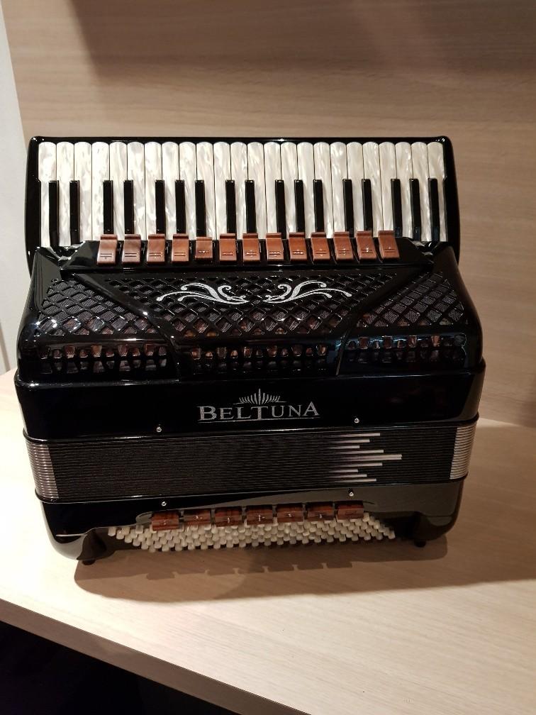 Beltuna Spirit V Compact Classic Black accordeon