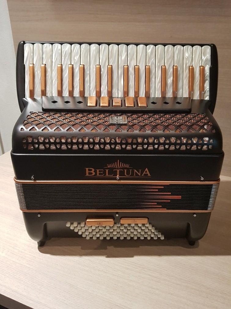 Beltuna Studio III BR Lava Black Nickel accordeon