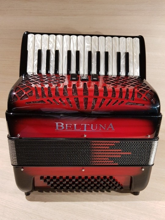 Beltuna Studio II M 26/60 shadow colour red accordeon