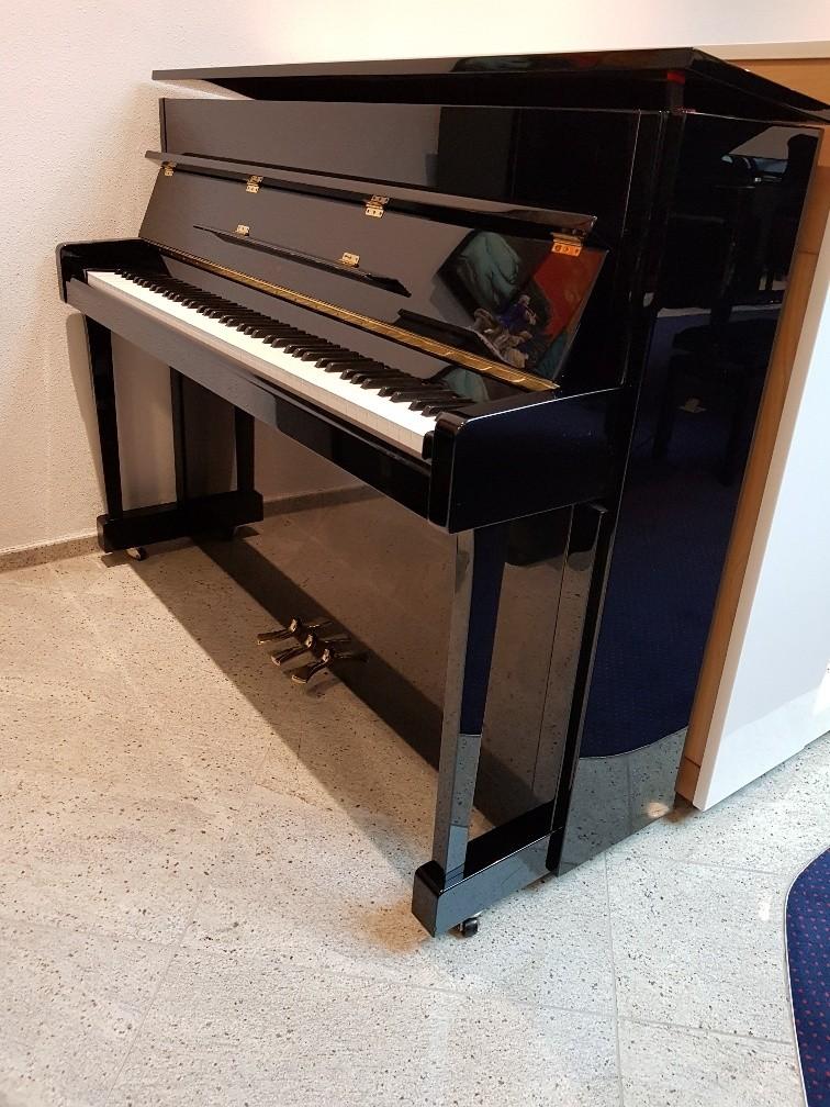 Yamaha C-113T PE occasion piano zwart hoogglans (2003)