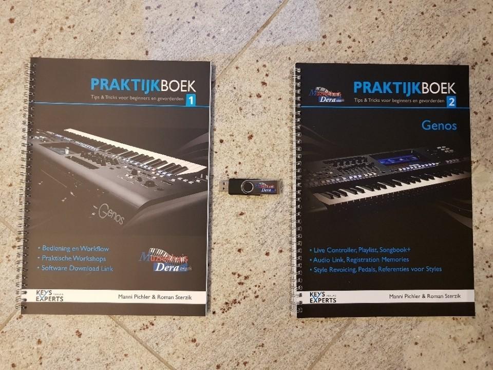 Keys Experts Genos Praktijkboeken 1 & 2 + USB-Stick