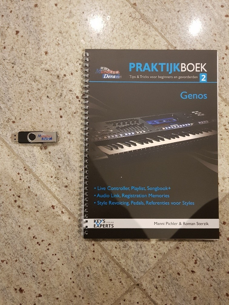 Keys Experts Genos Praktijkboek 2 + USB-Stick