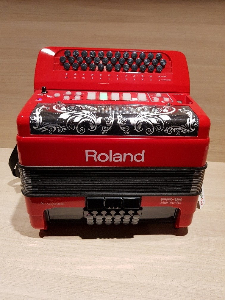 Roland FR-18D RD Diatonic V-Accordeon Occasion FR18D