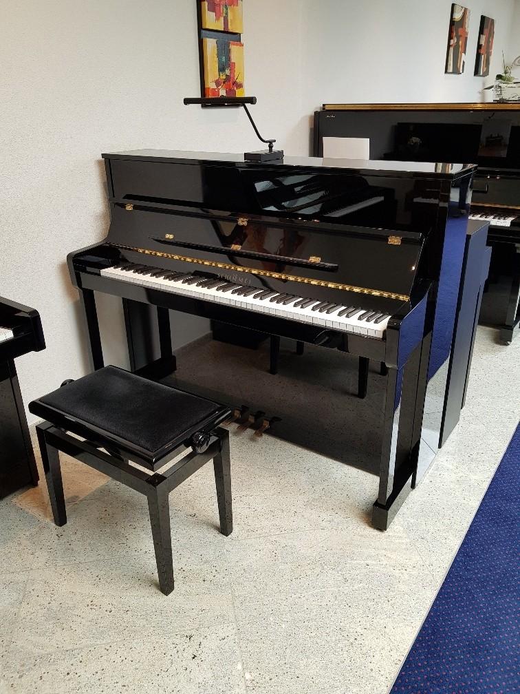 Schimmel 116S zwart hoogglans topklasse piano occasion