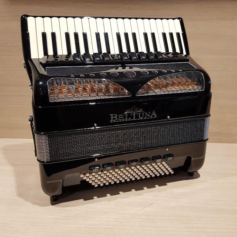Beltuna Play IV 120C-M Luxe Pro + GHV Nero accordeon