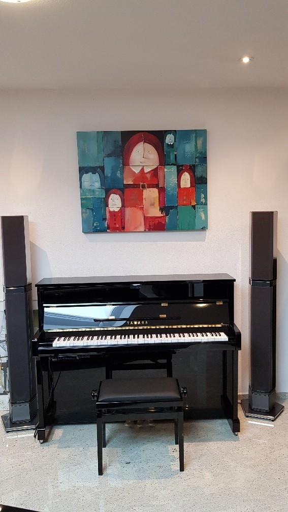 Yamaha b2 SC2 PE silent piano demo incl. B&O Beolab Penta