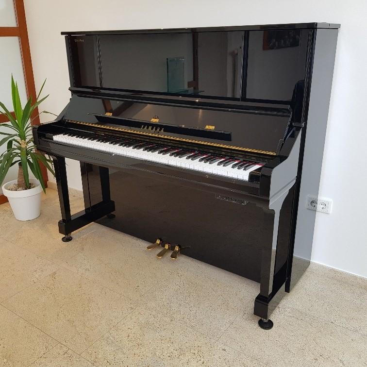 Yamaha YU30 SB silent piano occasion (2002)