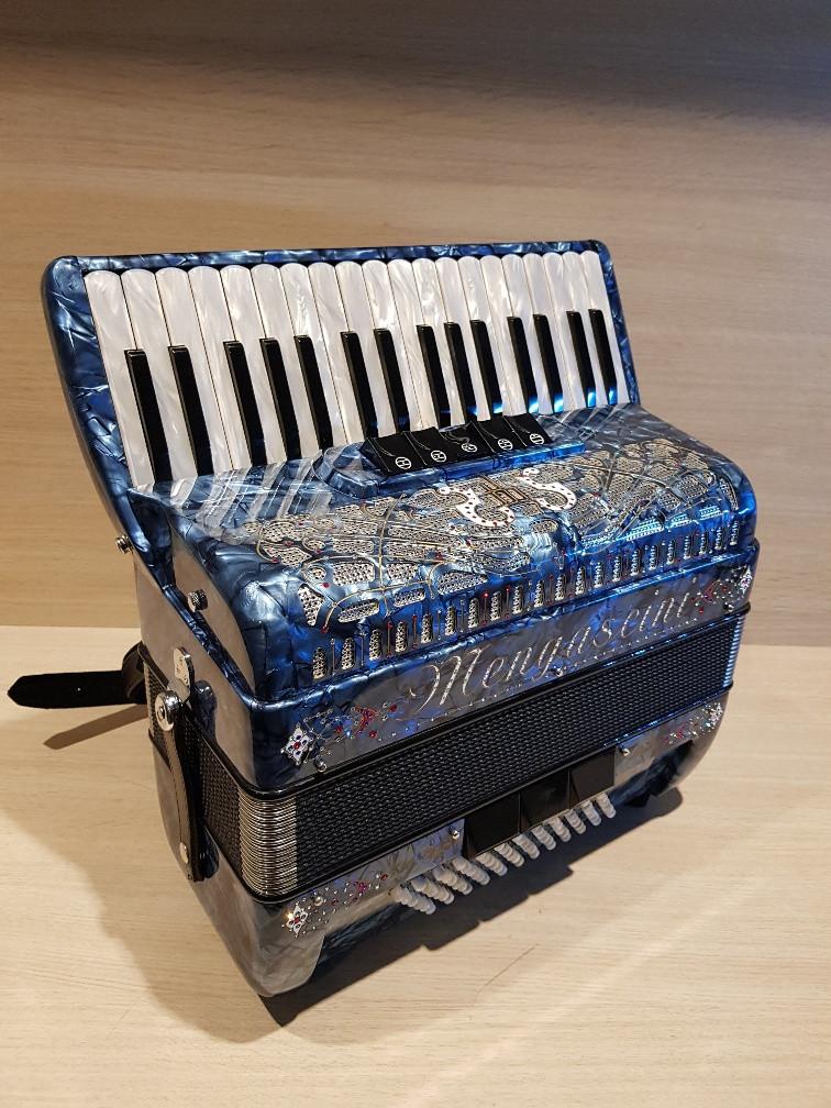 Mengascini Da Capo Italia III 72 Deco occasion accordeon