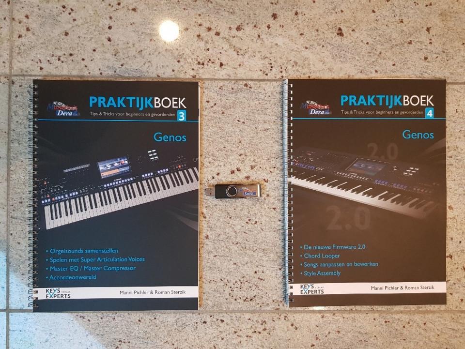 Keys Experts Genos Praktijkboeken 3 & 4 + USB-Stick