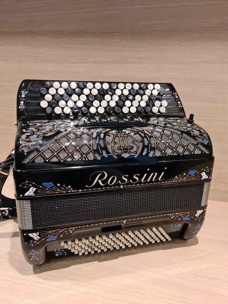 Rossini III 96 knopaccordeon B-Griff Deco Occasion