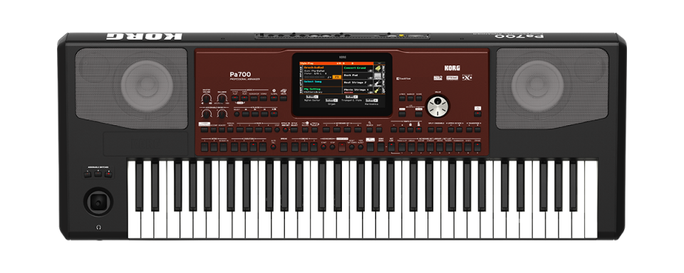 Korg Pa700 Professional Arranger Keyboard occasion