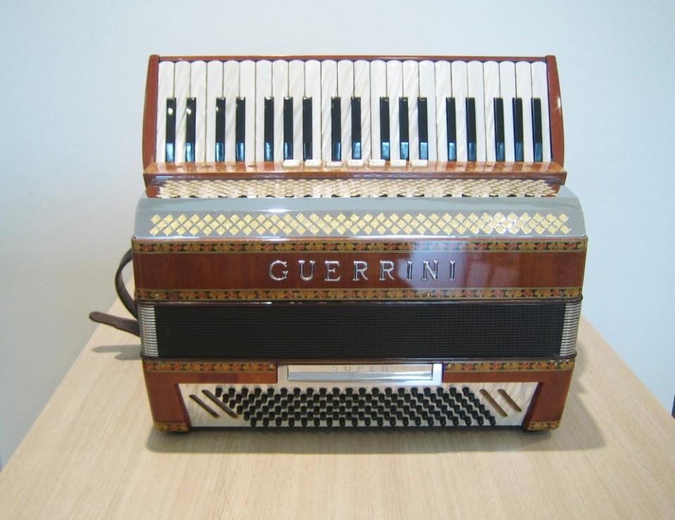 Guerrini Alpine 120 M accordeon occasion
