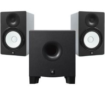 Yamaha HS8 actieve studio monitor set incl. HS8S subwoofer
