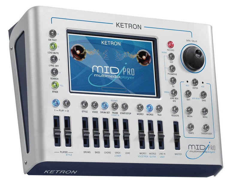 Ketron MidjPro Multi Media Player MidjayPro