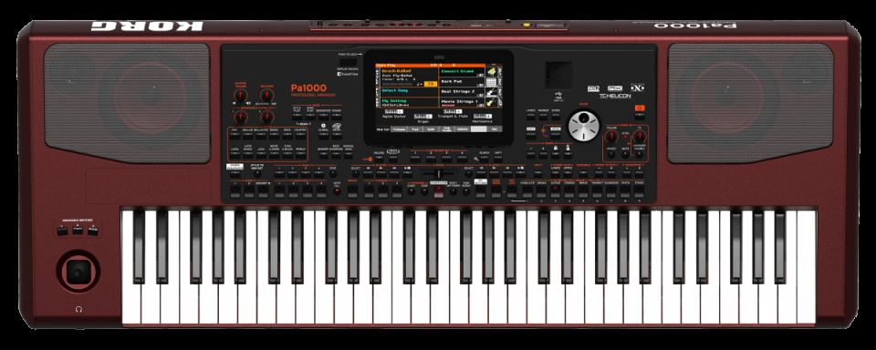 Korg Pa1000 Professional Arranger Keyboard | direct leverbaar