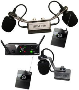 Harmonikatechnik HDM-100 AKG WMS-40 mini dual