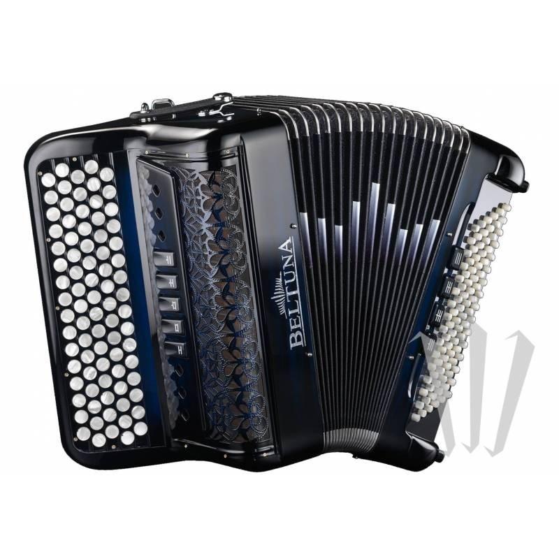 Beltuna Studio 300M Luxe B-Griff accordeon Francese Black Matt
