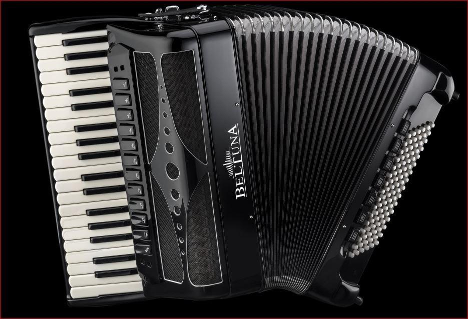 Beltuna Play IV 96C-P Luxe Pro + GHV Nero accordeon