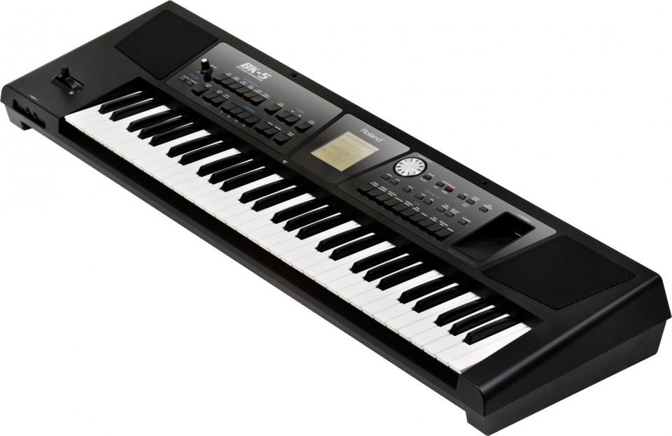 Roland BK-5 Backing Keyboard demo