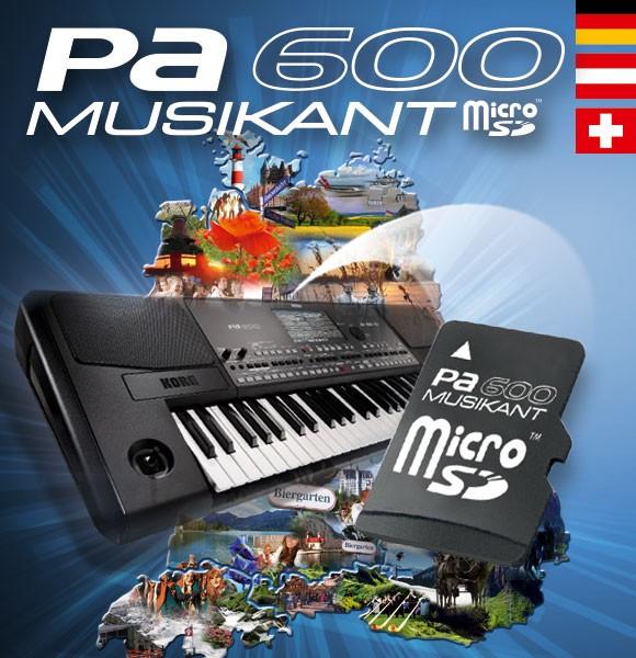 Korg Pa600 Musikant Micro SD