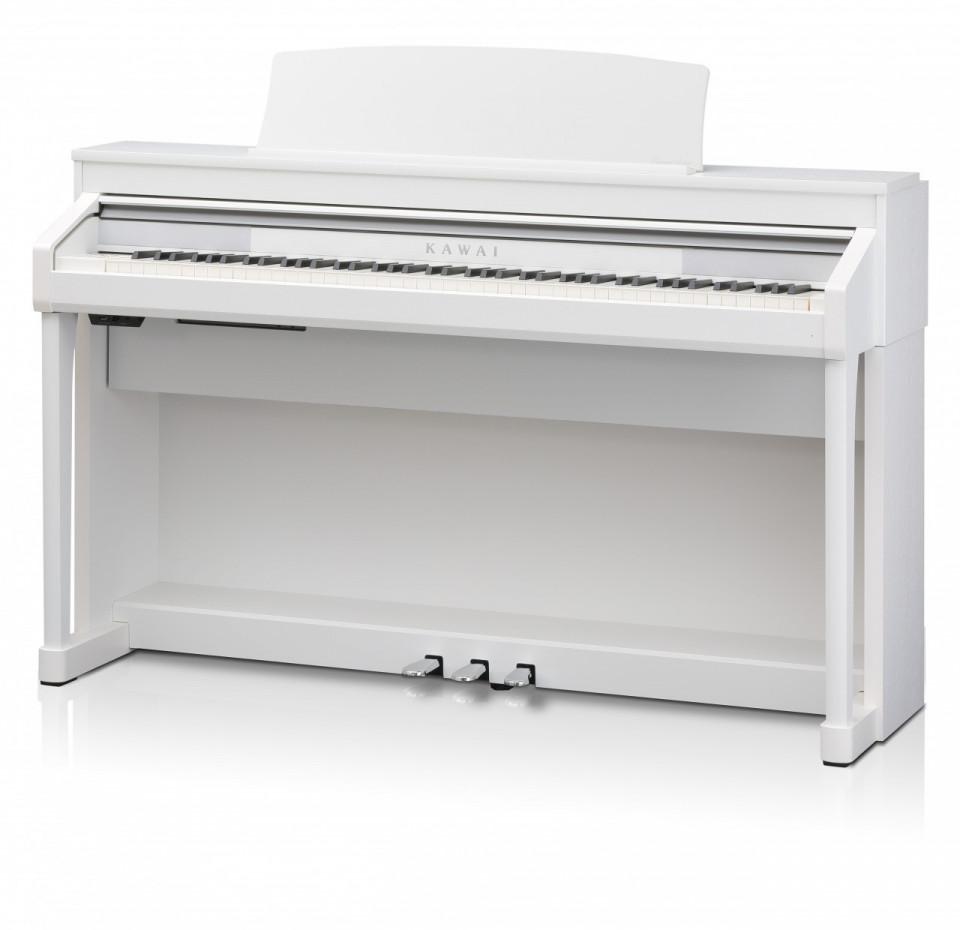 Kawai CA67 W Premium White Satin occasion digitale piano