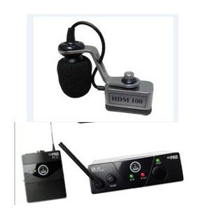 Harmonikatechnik HDM-B100 AKG WMS-40 mini