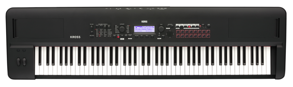 Korg Kross 2-88 MB (Super Matte Black) Synthesizer