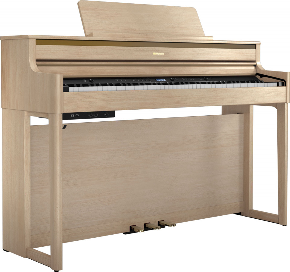 Roland HP704 LA digitale piano (licht eiken)