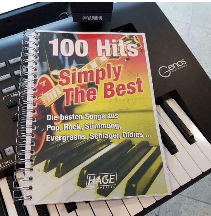 Hage 100 Hits Simply The Best incl. 100 midi-files occasion (speciaal voor Yamaha XG/XF systeem)