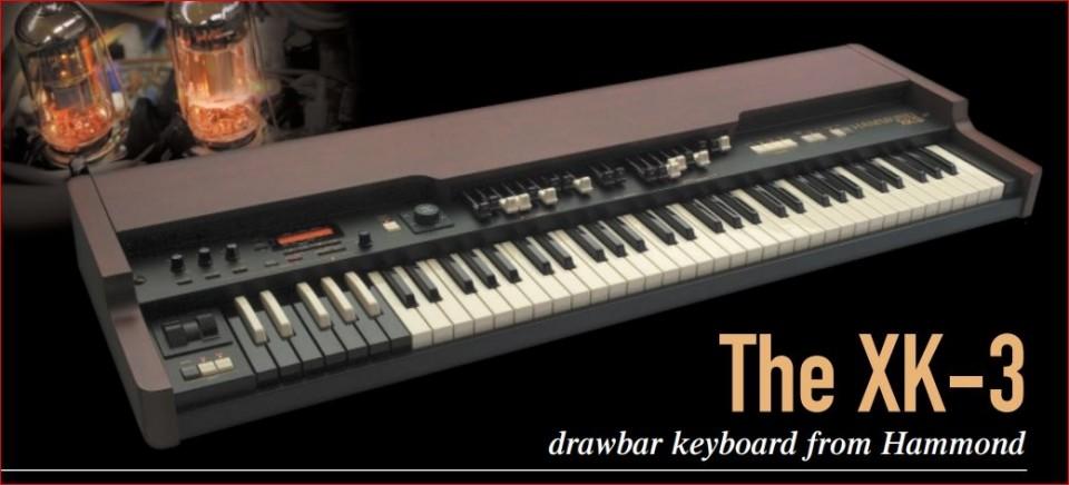 Hammond XK-3 drawbar keyboard occasion