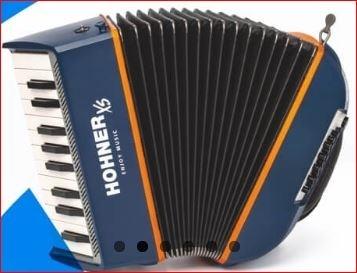 Hohner XS Accordeon voor kinderen slechts 2,9 kg