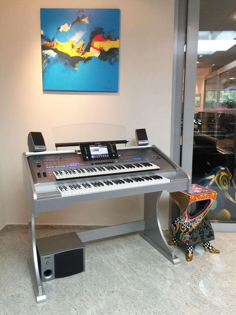 TWIN 2-klaviers uitbreiding voor Yamaha Tyros5-61 Occasion