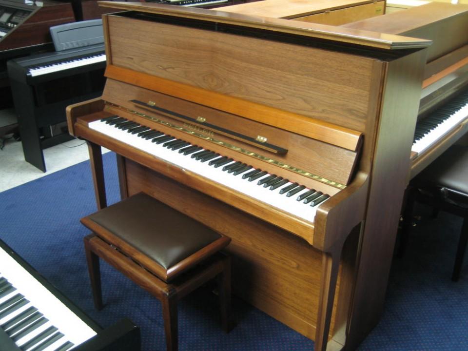 Seiler Classic piano Konsole 122 Noten gesatineerd 1990