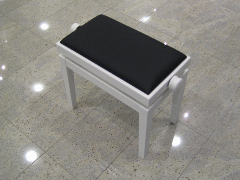 Discacciati 105FR wit hoogglans zwart skai
