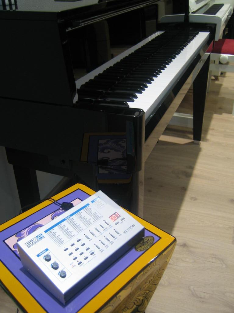 Yamaha N1 AvantGrand + Ketron SD4 demo