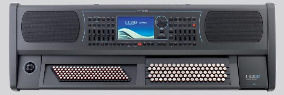 Ketron SD80 Chromatic Keyboard