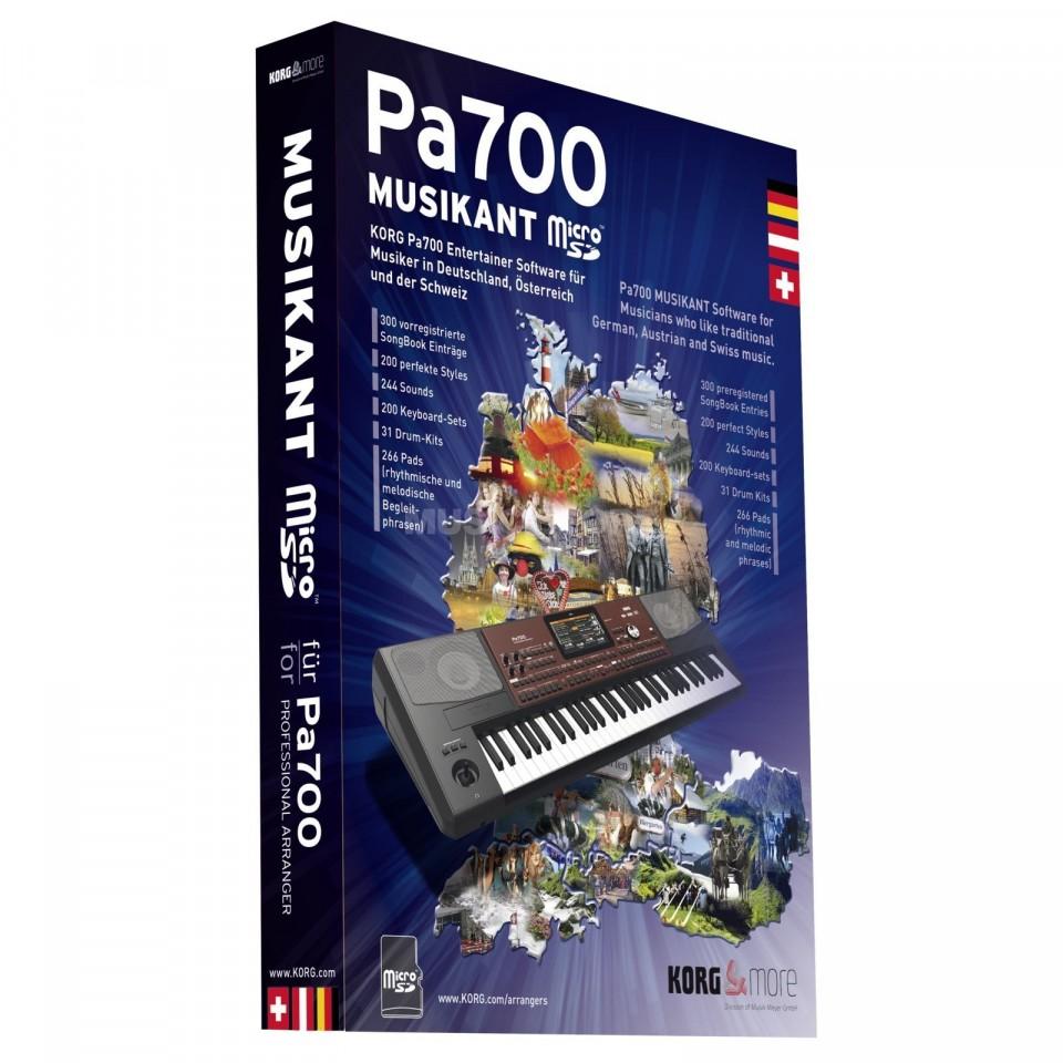 Korg Pa700 Musikant Micro SD