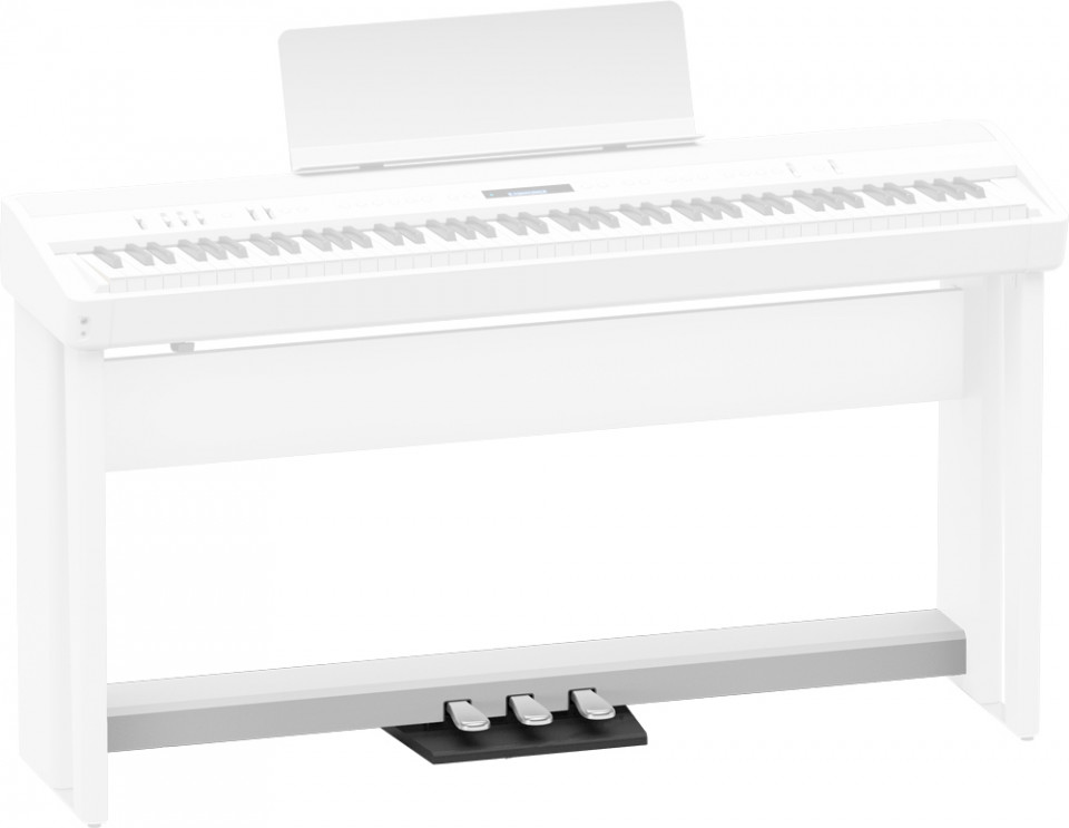 Roland KPD-70 WH pedal board voor Roland FP-30X WH en FP-30 WH FP30Xwh