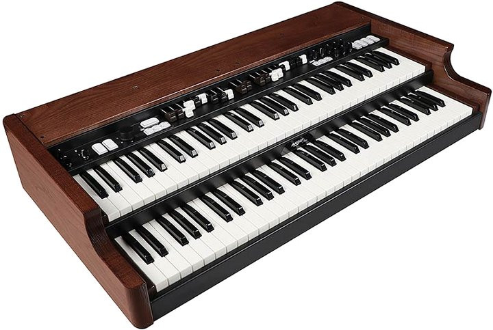 Crumar MOJO CLASSIC tweeklaviers virtual tonewheel organ