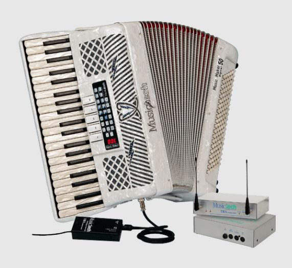 Musictech Music Maker Digital 50 Wireless digitale accordeon