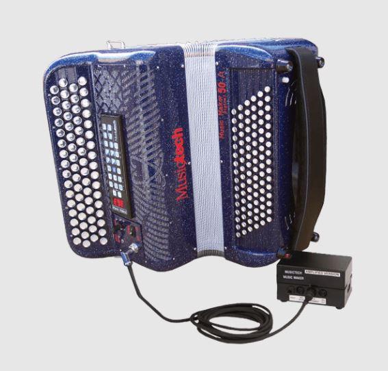 Musictech Music Maker Digital 50A digitale accordeon chromatisch French System