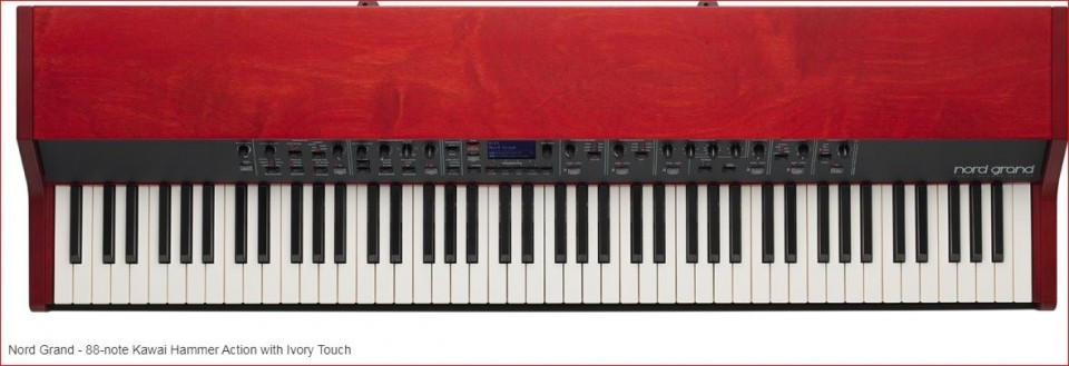 Clavia Nord Grand stage piano (Kawai Hammer Action)