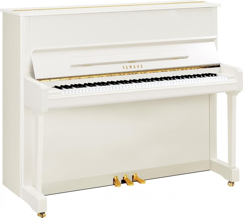 Yamaha P121 PWH piano | in showroom