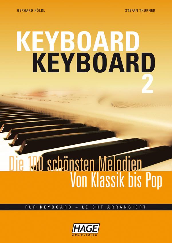 Hage Keyboard-Keyboard 2 incl. 100 MIDI-files (GM systeem) GM3756U